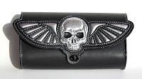 """""""Flying Skull"""" custom fork toolbag"""