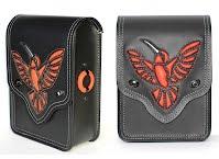 """Sun Glow"" sissy bar bag for Harley-Davidson Nightster"