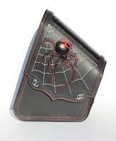 """Black Widow"" Swingarm Bag for Harley-Davidson Softail"