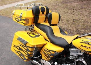 Quot Punisher Quot Custom Set For Harley Davidson Cvo Ultra