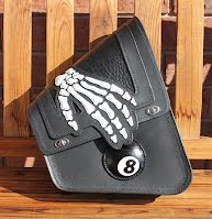 """Vegas 8"" custom right-side swing-arm bag"