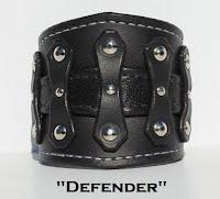 http://www.etsy.com/ca/listing/191512716/black-leather-cuff-bracelet-wristband
